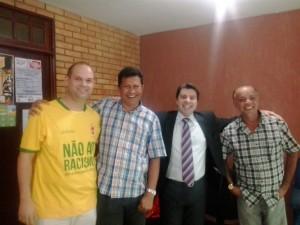 Diretoria do Sinpro-AL e o Vereador Wilson Júnior